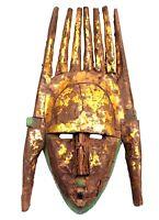 Arte Africano - Antico Maschera Di Portabambino marka - Legno & Metallo - Mali -
