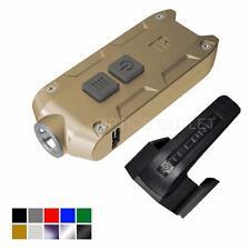 Nitecore TIP 2017 Upgrade 360 Lumen USB Rechargeable Keychain Flashlight (Gold)