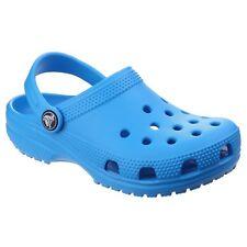 Kids's Crocs Kids Cayman Strap Sandals in Blue UK 6 Infant / EU 22 - 23