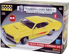 1970 Ford Torino Yellow GT Hawk Washington Mint Ultra Metal Series Model Kit