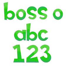 Sizzix Bigz XL Boss-O Lowercase alphabet & number die #A11038 Retail $69.99
