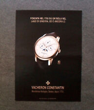 M542 - Advertising Pubblicità - 2013 - VACHERON CONSTANTIN