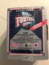 FACTORY SEALED BOX OF 1991 UPPER DECK HIGH NUMBER SERIES NFL FOOTBALL CARDS