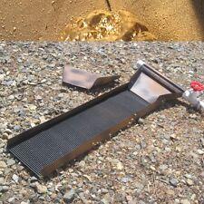 Sluice gold mining prospecting, easy sluicing panning videos, gold, sluice box