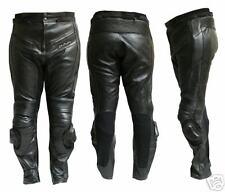Pantalone Moto in Pelle JF-Pelle Black mod 9200