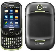 GOOD Pantech P6010 Pursuit II UNLOCKED 3G Qwerty Touch Screen GPS Phone Green