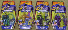 BATMAN BRAVE AND THE BOLD LOT OF 4 JOKER GOLD METAL MEN
