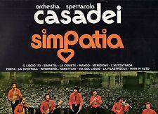 RAOUL CASADEI ORCHESTRA disco LP 33 giri SIMPATIA made in ITALY 1974