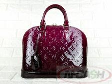 BIDSALEONLY! AUTHENTIC $2490 LOUIS VUITTON Alma PM MV Degrade Magenta Bag