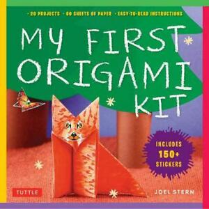 My First Origami Kit [With Sticker(s) and Origami Paper]: [Origami Kit with Book