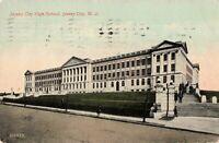 Postcard Jersey City High School Jersey City New Jersey
