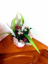 Silk Floral Arrangement/Floral Centerpiece/Silk Floral Arrangement/Mother's Day