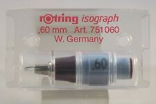 More details for rotring isograph replacement nib 0.60mm, art. 751 060