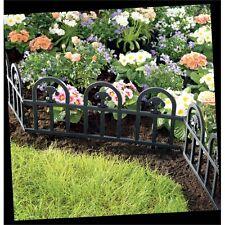 Eden 100 x 300 x 600mm Green Arch Design Garden Edging - 4 Pack
