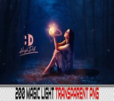 200 MAGIC LIGHT TRANSPARENT PNG DIGITAL PHOTOSHOP OVERLAYS BACKDROPS BACKGROUNDS