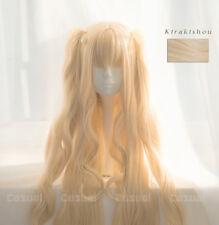 Rozen Maiden Kirakishou Super Long blonde hair Cosplay Wig Wigs