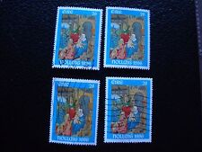 IRLANDE - timbre yvert et tellier n° 975 x4 obl (A32) stamp ireland (A)