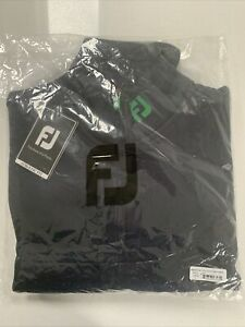 FJ FootJoy Chillout Xtreme Fleece Navy Green Large