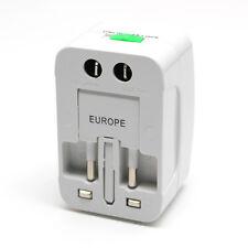 All-in-One Traveller Adapter Multi Plug Usa/Uk/Cn/Au/Eu Wall Ac Power Converter