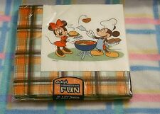 New Disney Mickey Mouse Summertime Fun Paper Napkin Set