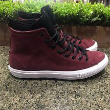Converse CTAS WP Boot HI Dark Burgundy Chuck Taylor 162410C Men's Size 11