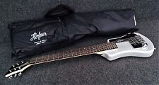 HOFNER HCT-SH-SBT SHORTY TRAVEL Electric Guitar METALIC SILVER with Gig Bag