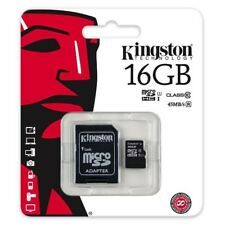 Micro Sd 16 GB con adattatore Kingston