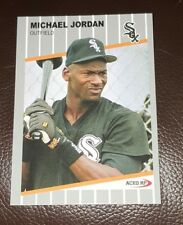 Micheal Jordan 1989  Style Ripken F*ck Face Parody ACEO Art Rookie Baseball Card