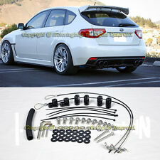 For 08-14 Subaru Impreza STI 11-14 WRX Hatch 3Dr Rear Spoiler Lip Wing Riser Kit