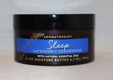 Bath & Body Works Sleep Lavender & Cedarwood 24 Hr Moisture Body Butter