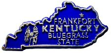 Kentucky The Bluegrass State Souvenir Fridge Magnet