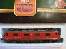 Locomotive Re 6/6 SBB FFS rot HAG 207 échelle HO