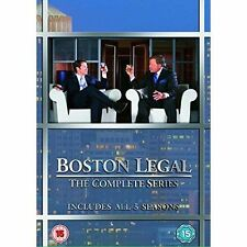 Boston Legal Seasons 1-5 - DVD Region 2