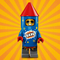 LEGO Minifigure Series 18 Firework Guy - minifig col316 FREE POST