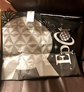 Disney Parks Shopping Tote Bags EPCOT Exclusive Large Reusable BRAND NEW