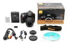 【MINT】 Nikon D D5300 24.2MP Digital SLR Camera Kit w/ AF-S DX 18-55mm VR II Lens