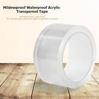 Kitchen Waterproof Acrylic Transparent Tape Sink Gap Seal Strip Wall (5cmx5m)