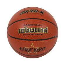 Super-K Rebound Imitation PU Leather Basketball Official Size 7 Street Game Ball