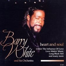CD NEUF scellé - BARRY WHITE and his orchestra - HEART AND SOUL -C19