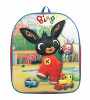 Cbeebies Bing 3D EVA Playtime Boys Red Junior Backpack School Bag Kids Childrens