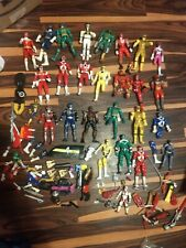 Huge Broken Power Rangers Figures and Miscellanious Parts Lot