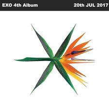 EXO The War 4th Album Korean Random Ver CD+PhotoBook+PhotoCard
