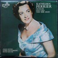 Mahler - Lied von der Erde, WALTER, VPO, FERRIER, PATZAK, Decca ACL 305 MONO