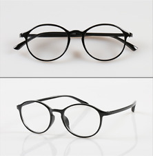 New TR90 Round Black Women Men Presbyopia 1.0-4.0 Flexible Reading Glasses Fold