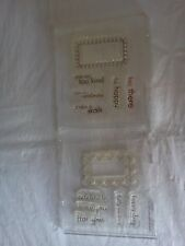 Papertrey Ink Fillable Frames #5 & #6 Stamp Set