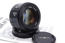 Minolta AF 50 mm 1:1 .4 Standard Objectif lens Digital Sony Alpha A-Mount a99 a77