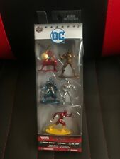 New DC Nano Metalfigs Wonder Woman, Cyborg, Flash, Parademon & Batman Figures