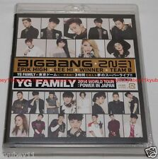New YG FAMILY WORLD TOUR 2014 POWER in Japan 2 Blu-ray AVXY-58262 4988064582624