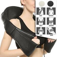 NEW Shiatsu Back Shoulder & Neck Massager W/ Heat Deep Tissue 3D Kneading Pillow
