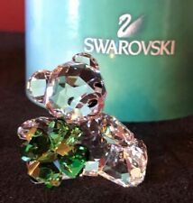 Swarovski Kris Bear Luck (4 Leaf Clover) #5063321 Mint